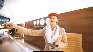 Jak wygląda Business Class w samolotach Emirates!