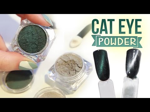 How To Apply Cat Eye Magnetic Powder