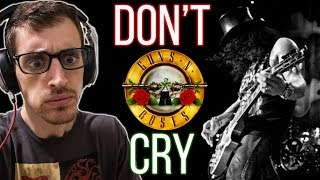 "Hip-Hop Head's FIRST TIME Hearing ""Don't Cry"" by GUNS N' ROSES"