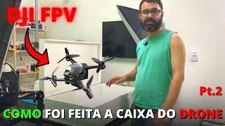 Como ficou a caixa para o nosso Drone DJI FPV Combo MOR Pt2. - Como Curiosidades do Mundo