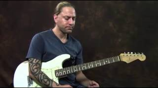 How to Bend Guitar Strings on (Electric Guitar Lesson)