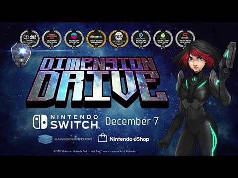 Dimension Drive - Launch Trailer (Nintendo Switch / Steam) thumbnail