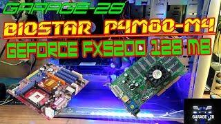 РЕМОНТ КОМПЬЮТЕРА №7, ПЕРЕУСТАНОВКА WINDOWS XP ( BioStar P4M80-M4, GeForce FX 5200 128 MB)
