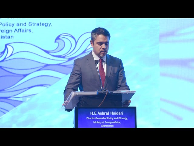 Ambassador Haidari Addresses the Indian Ocean Conference 2018 in Hanoi-Vietnam