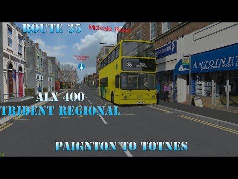 Omsi 2 BOTW- 35 Paignton To Totnes (ALX400 Regional