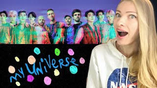 Vocal Coach/Musician Reacts: COLDPLAY X BTS 'My Universe' Analysis!