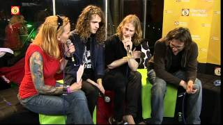 Shaking Godspeed @ Paaspop 2011: interview