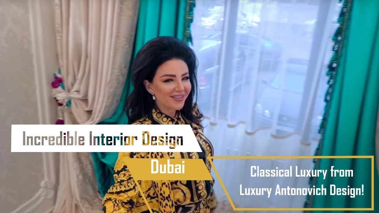 Classical Luxury from Luxury Antonovich Design!