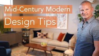 Mid Century Modern Design Tips