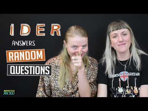 Random Questions With IDER | Monster Vlogs