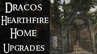 Draco's Hearthfire Home Upgrades |Skyrim Mod Review| TESM