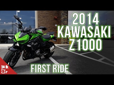 2014 Kawasaki Z1000 | First Ride