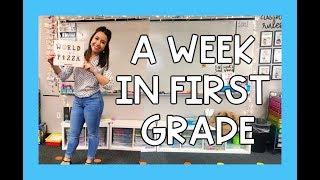 a Week in First Grade! | thatonehappyclassroom