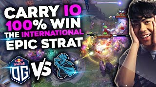 OG vs NEWBEE - ana Carry IO (Wisp) 100% 200 IQ Win Strat by OG TI9 THE INTERNATIONAL 2019 DOTA 2