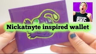 Nickatnyte Inspired Duct Tape Wallet!!