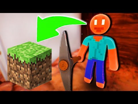 STICKMAN ENCONTROU STEVE DO MINECRAFT! Supraland #13