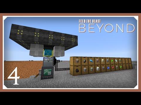 Minecraft Mods: FTB Unstable | RFTools Builder Quarry | E03