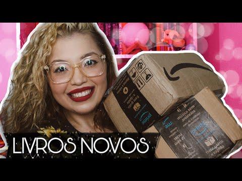 UNBOXING DE LIVROS ? | Jéssica Caetano
