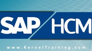 SAP HCM Training Tutorial For Beginners By Real Time Expert