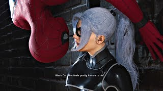 Spider-Man PS4 The Heist DLC - All Black Cat Cutscenes (Spiderman 2018) PS4 Pro