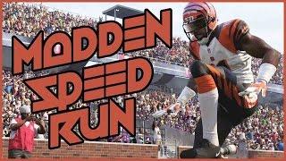 MADDEN 16 SPEED RUN!! - Madden 16 Ultimate Team | MUT 16 PS4 Gameplay
