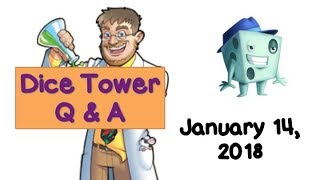 Dice Tower Live Q & A with Tom Vasel