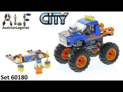 Vidéo LEGO City 60180 : Le Monster Truck