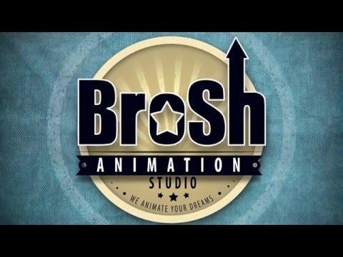 Анимация логотипа для  Brosh Animation