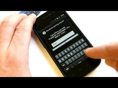 Video of BluePiano Bluetooth Wedge Demo