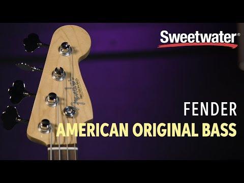 Fender American Original Precision Bass Review