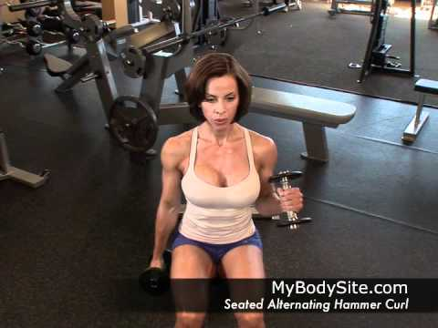 Online Personal Training - Biceps - Seated Alternating Hammer Curl