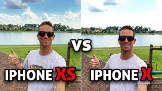 iPhone XS vs iPhone X: CAMERA TEST! (4K)