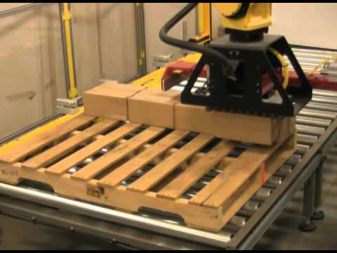 FANUC Robotic Palletizer – Serpa Packaging Solutions