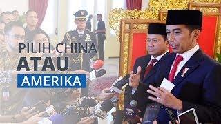 Ditanya Pilih Amerika atau China, Presiden Jokowi: Kepentingan Nasional Nomor Satu