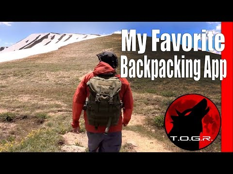 My Favorite Backpacking Map and GPS App – AllTrails – Review