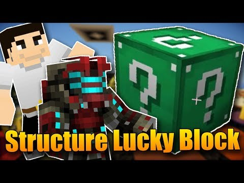 Structure Lucky Blocky!