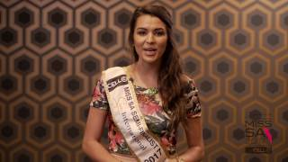 Introduction Video of Lou Marie Taljaard Miss South Africa 2017 Contestant from Bellville, Western Cape