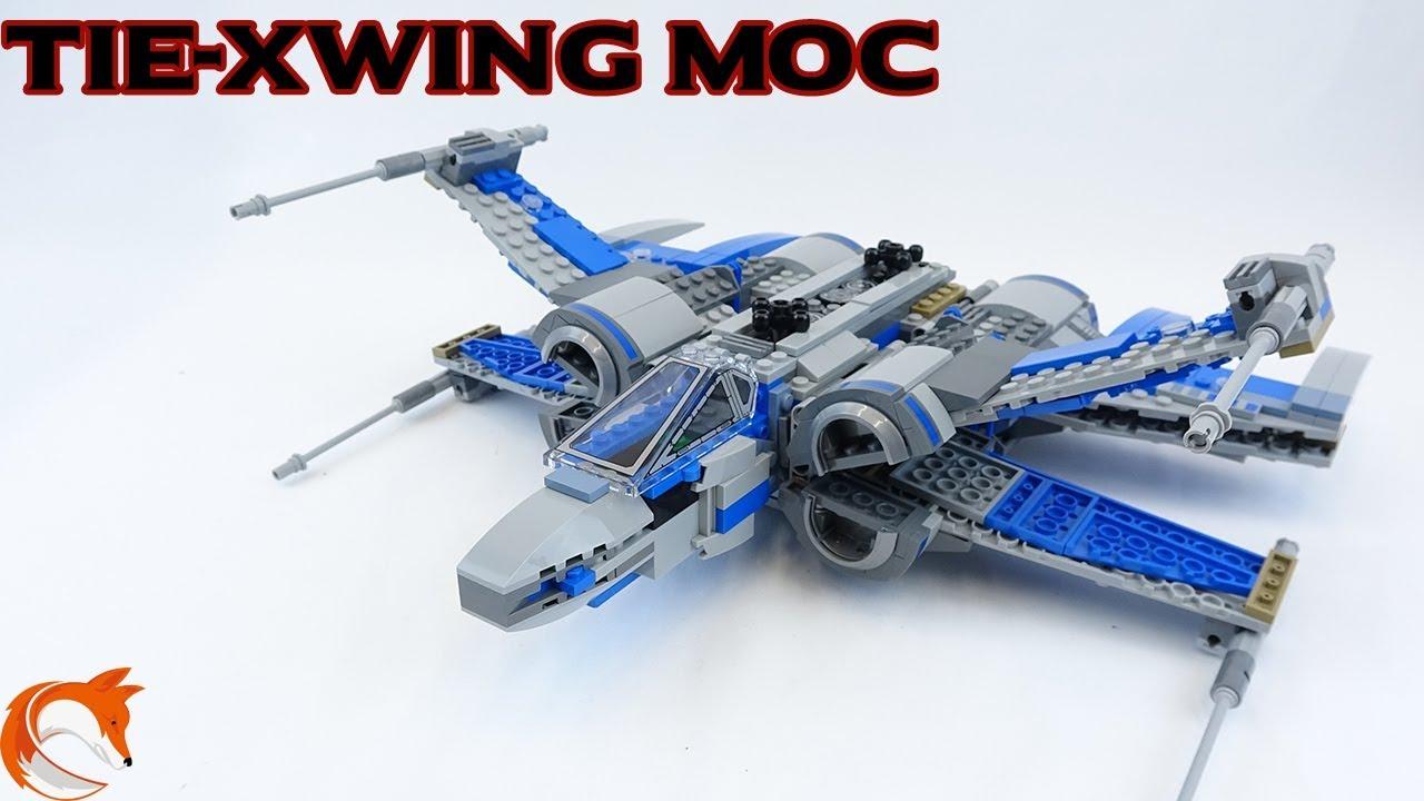 LEGO Star Wars XWing Alternate Build Tie XWing - MOC Monday