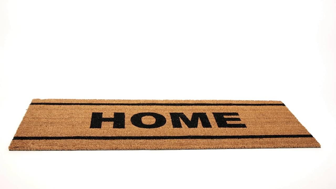 Video von: Fußmatte lang Kokos HOME