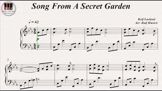 Song From A Secret Garden - Rolf Løvland, Piano