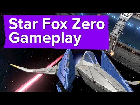 Видео № 2 из игры Star Fox Zero - First Print Edition [Wii U]