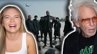 MY DAD'S FIRST TIME REACTING TO STORMZY (Vossi Bop) | American Reacts