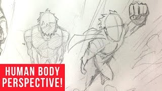 How To Draw Characters in Perspective: Bird's Eye View