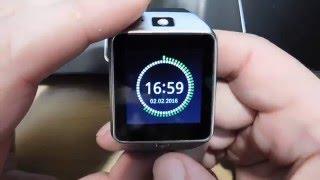 Умные часы Smart watch DZ 09 от компании Всякие штучки - видео