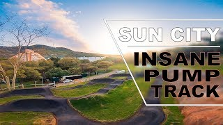 Sun City built a Pump Track and we got to film it!