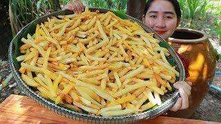 Tasty Crispy Fry Potato - Cooking With Sros
