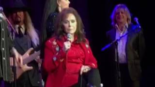 "Loretta sings ""Where No One Stands Alone"