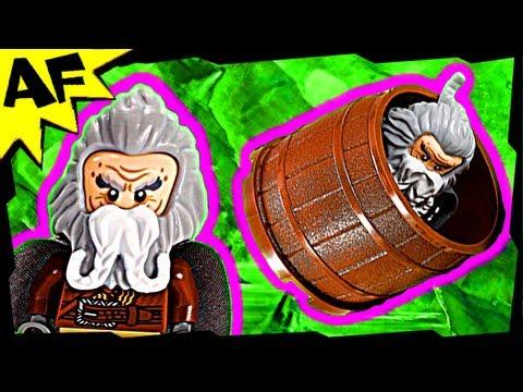 Vidéo LEGO Le Hobbit 79004 : L'évasion du royaume des Elfes sylvains