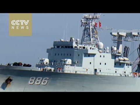 China's naval hospital ship calls at US port