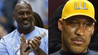 Shots Fired! Michael Jordan FINALLY Responds to LaVar Ball Saying He Could Beat the GOAT 1-on-1